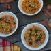 ひよこ豆とサツマイモのスープ