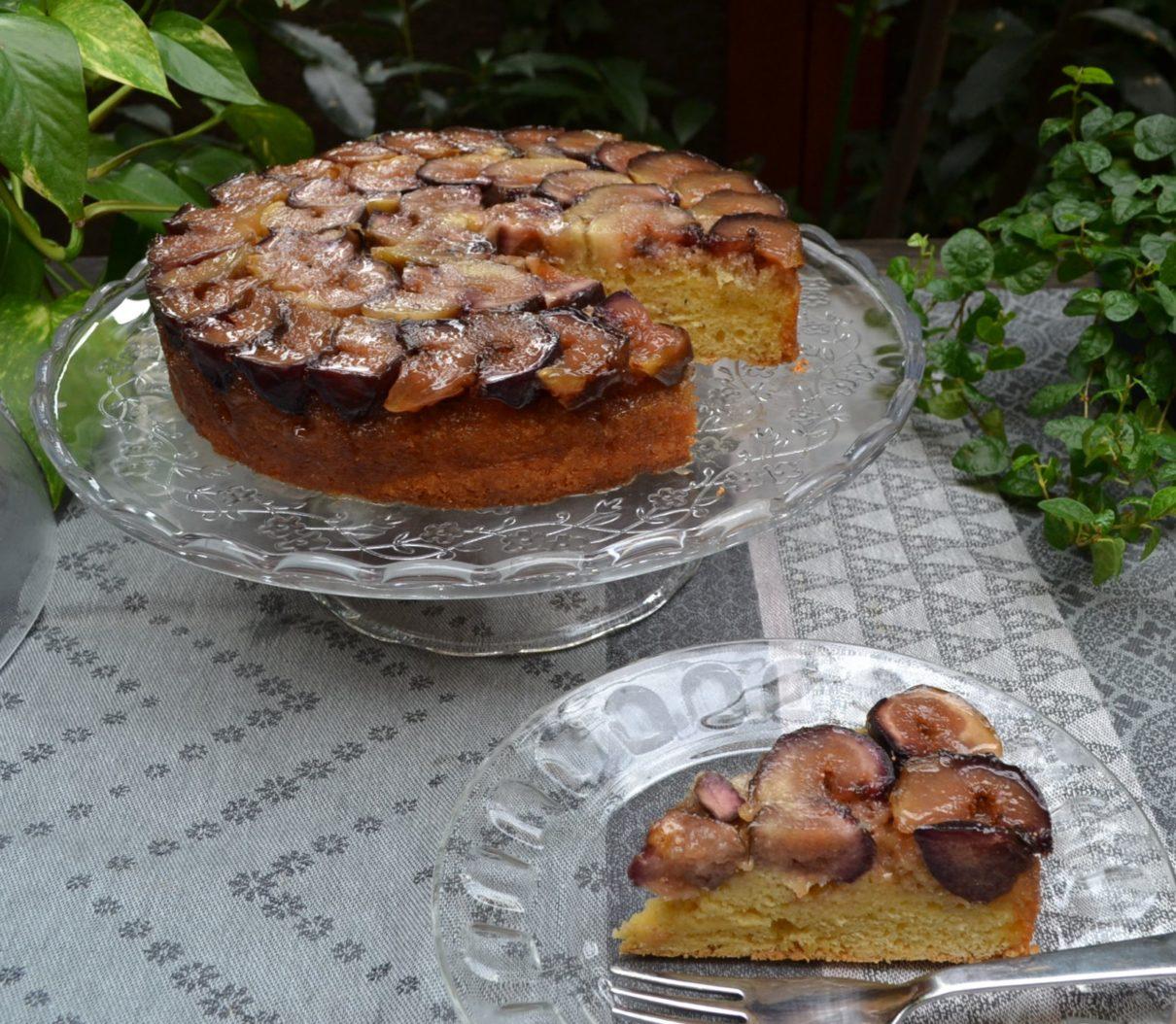 無花果のケーキ