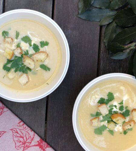 さつま芋のスープ