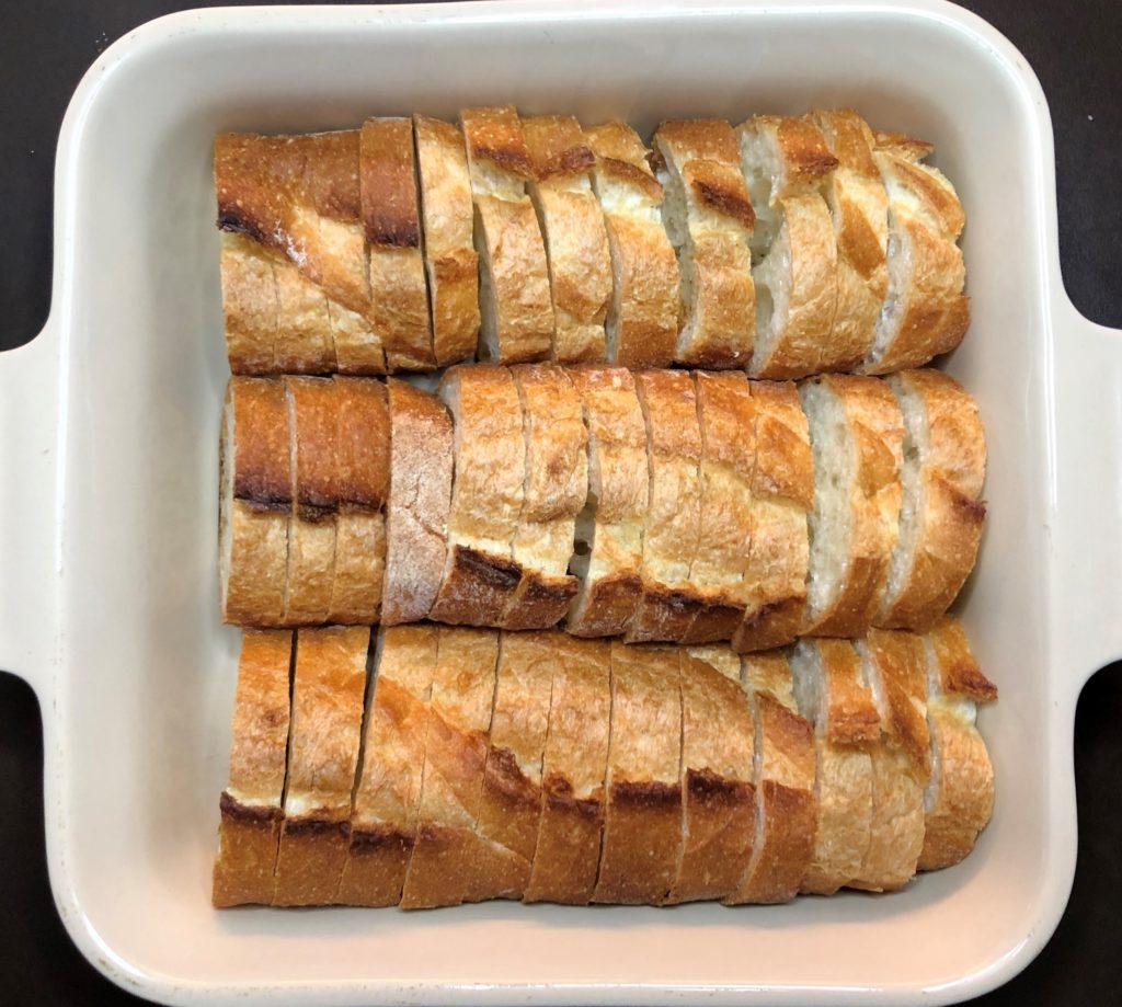 フレンチトーストキャセロール