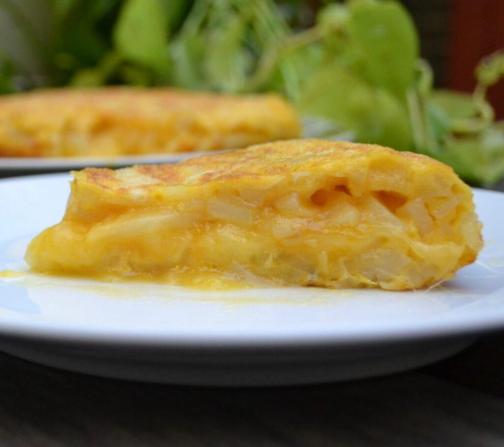 チーズ入りスペイン風オムレツ