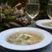 白いんげん豆とマッシュルームのスープ