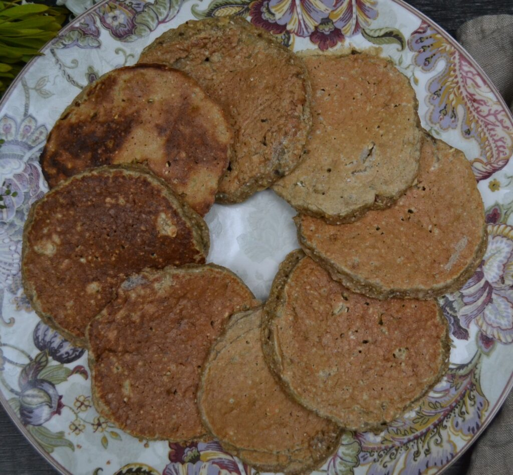 バナナオートミールパンケーキ