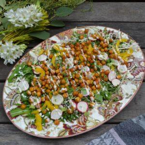 ローストひよこ豆のサラダ
