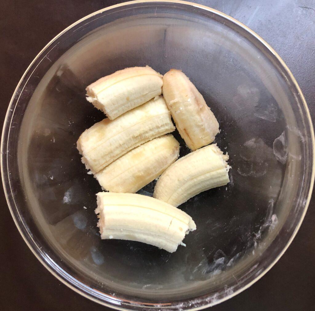 バナナチョコレートマフィン