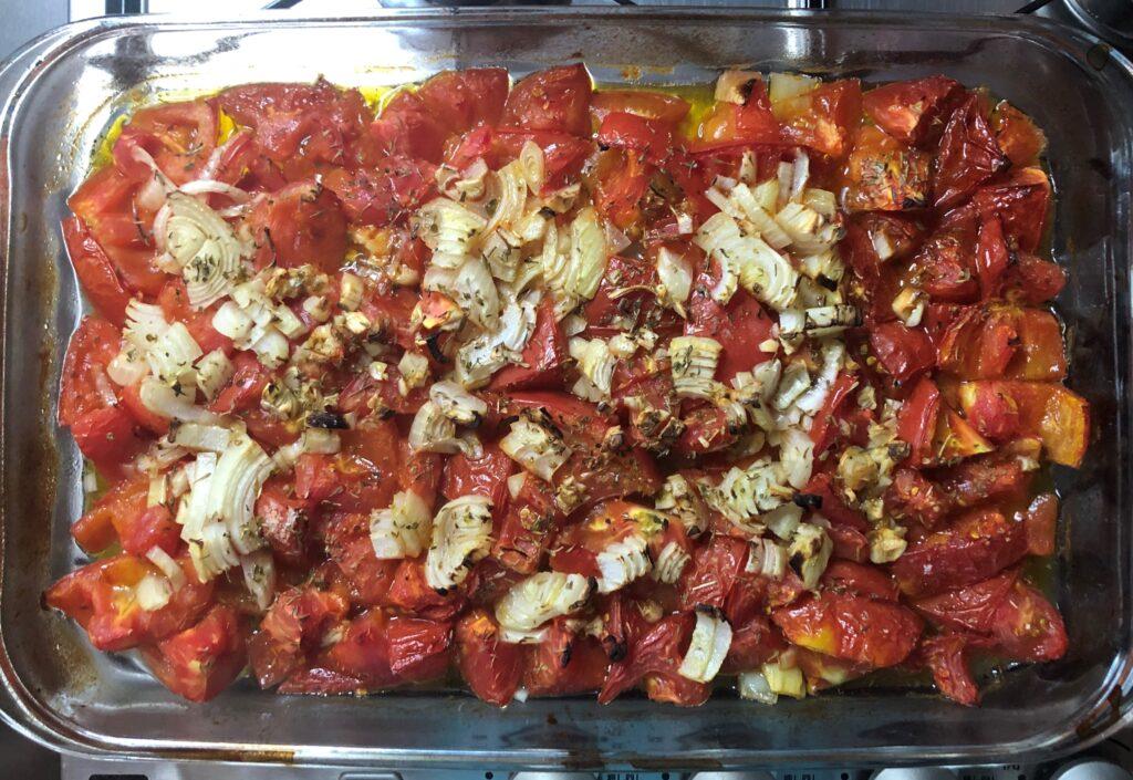 ローストトマトスープ