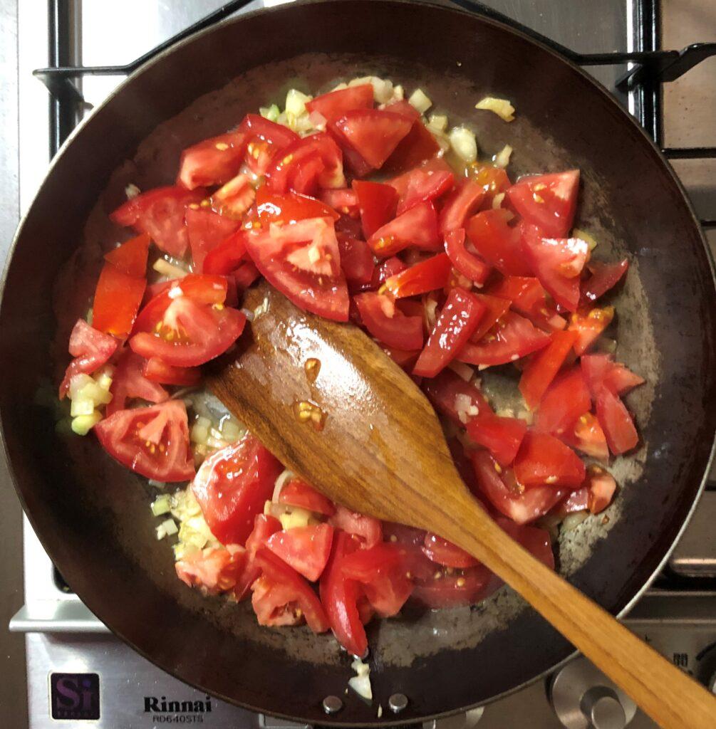 オクラのトマトシチュー