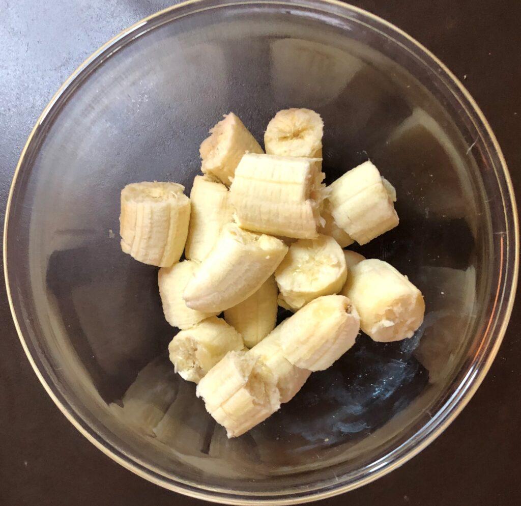 白胡麻バナナマフィン