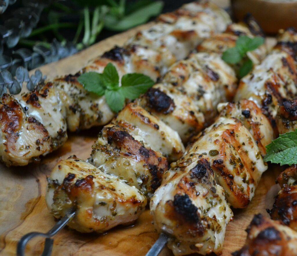 Chicken Souvlaki 鶏肉のスブラキ