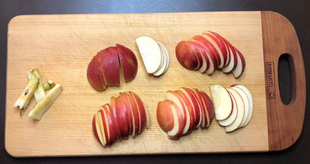 ドイツ風りんごのパンケーキ