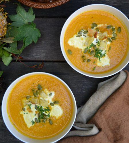 ジンジャーキャロットスープ